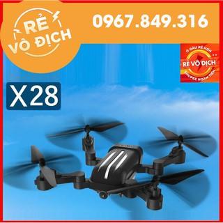 [RẺ VÔ ĐỊCH] Máy bay flycam bayang X28 động cơ không chổi than, bay 20 phút, camera 1080p siêu nét, cánh gập nhỏ gọn