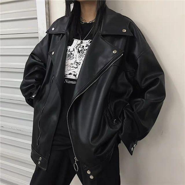 Áo khoác jacket da unisex [hàng order] | Shopee Việt Nam