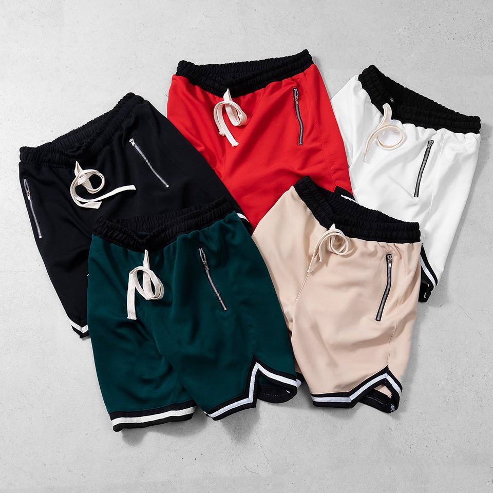 [ Chất lượng ] quần short v dây kéo- UNISEX cao cấp