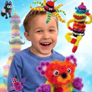 Childrens Bunchems Magic Puffer Ball 400 Pieces Creative Fun Art Learning Toy