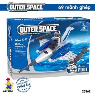 Bộ đồ chơi lắp ráp khám phá không gian Ausini 25362 – 69 mảnh