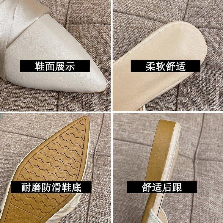 Giày Búp Bê Mũi Nhọn Hợp Thời Trang Dành Cho Nữ