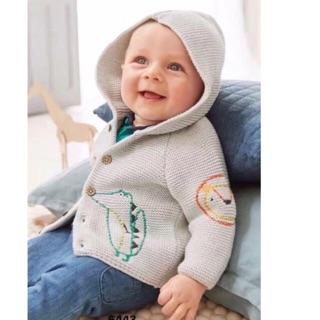 ( Kèm ảnh thật) Áo khoác len mini bé trai, bé gái nhiều màu siêu đẹp