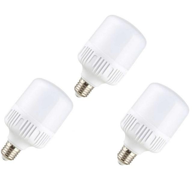 Bộ 3 Bóng Đèn LED trụ 13W E27