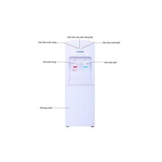 Cây nước nóng lạnh Hyundai HDE 5203W- Chính Hãng bảo hành 12 tháng.