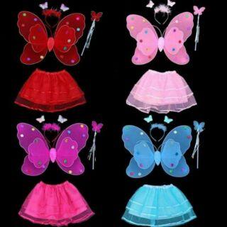Cánh bướm có đèn kèm váy thumbnail