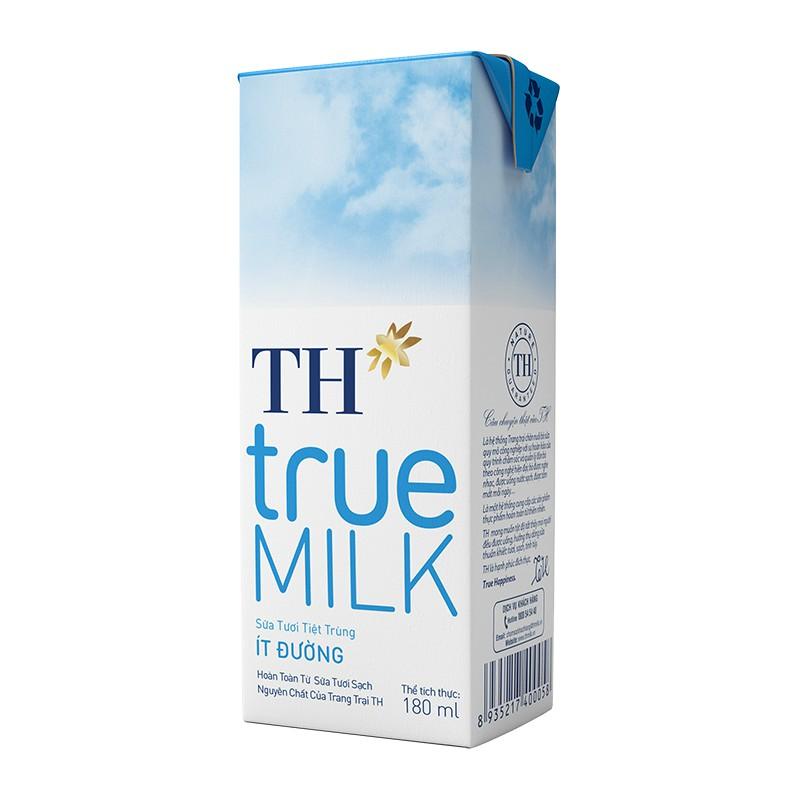 1 Hộp Sữa Tươi Tiệt Trùng TH True Milk