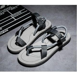 Sandal nam nữ mùa hè - đi du lịch - 2 màu đẹp Đen , Xám thumbnail