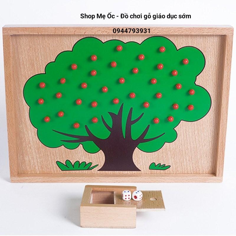 Trò chơi hái táo – Giáo cụ dạy học cho bé