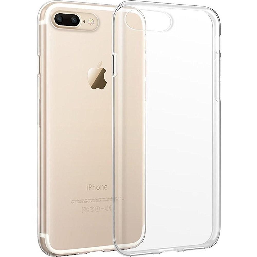 Ốp lưng dẻo cho ip7 plus/ 8 plus - Ốp dẻo trong sillicon cho iphone 7 plus/8 plus