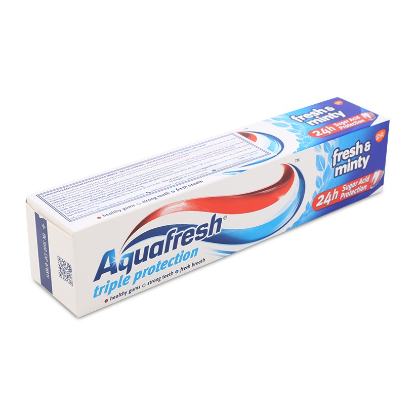 Kem đánh răng Aquafresh Triple Protection Fresh and Minty 100ml - 3020134 , 508508333 , 322_508508333 , 33000 , Kem-danh-rang-Aquafresh-Triple-Protection-Fresh-and-Minty-100ml-322_508508333 , shopee.vn , Kem đánh răng Aquafresh Triple Protection Fresh and Minty 100ml