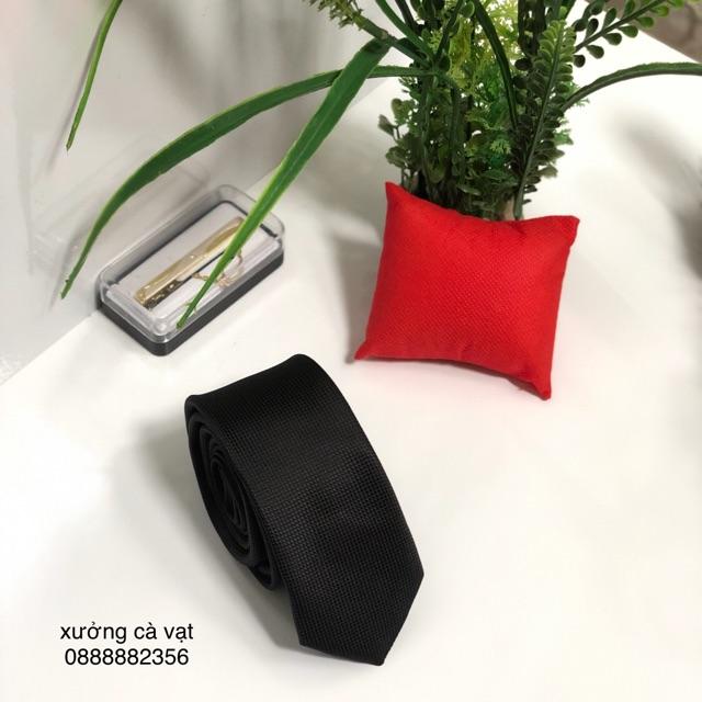 Cà vạt nam bản nhỏ 5cm - cavat nam