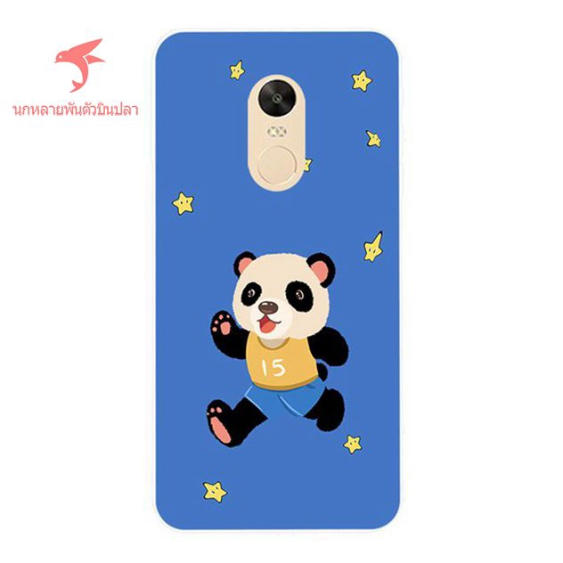 Xiaomi Redmi Note 4X 5 5A A1 A2 Max Mix 2 3 3S Plus Prime Panda Silicon Case