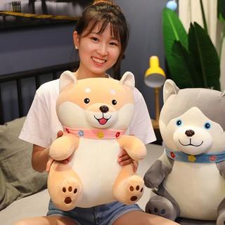 Gấu bông gối ôm chú chó Shiba đáng yêu nghộ nghĩnh TNB236