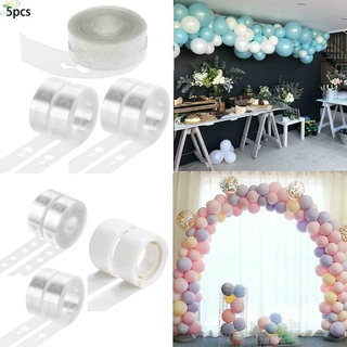 Balloon chain DIY Christmas Wedding Home 5m Plastic Transparent Garden Supplies Decorative Birthday Attachment