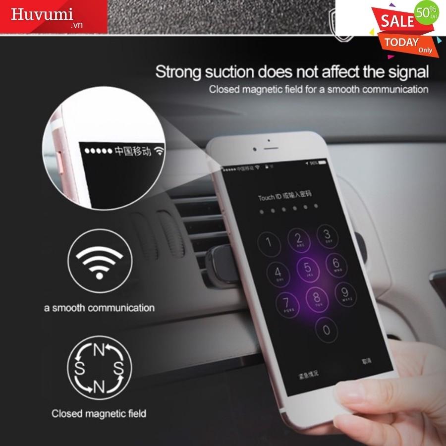 [Chính Hãng - Sẵn] Bộ đế giữ điện thoại nam châm Baseus Double Clip LV282 dùng cho xe hơi _LV282- New 100%