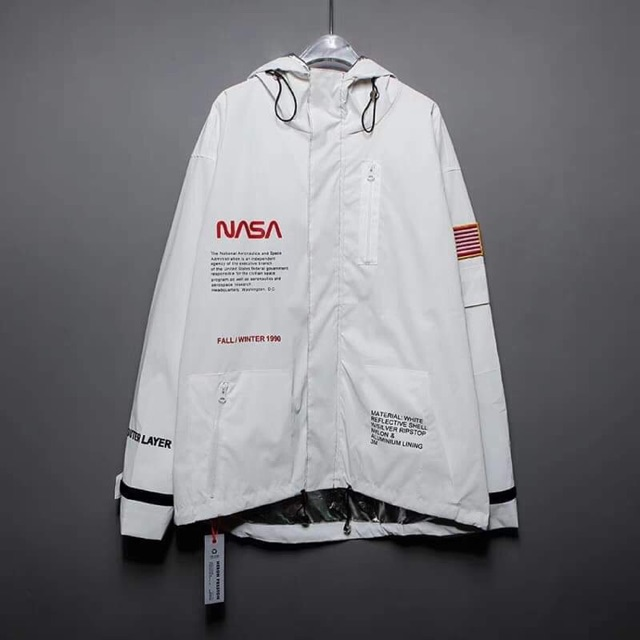 Áo Jacket Heron Preston x Nasa 3m