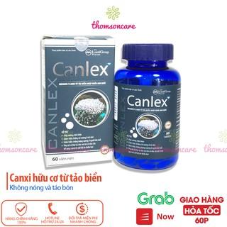 Canlex Bổ sung canxi hữu cơ từ tảo biển, phòng ngừa loãng xương Hộp 60 viên thumbnail