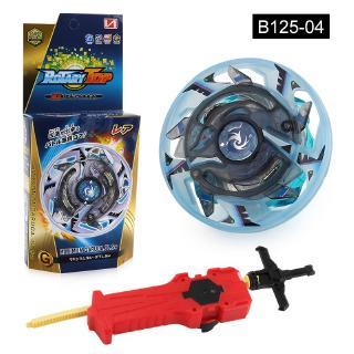 BeyBlade Battle Gyro Toy Death Hattis Burst Alloy B125 Battle Launcher Top Toys