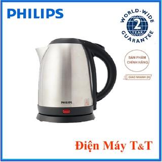 Bình đun siêu tốc Philips HD9303, 1800W, 1.2 lit, Hàng phân phối chính hãng