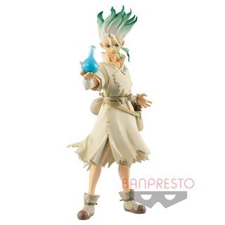 Mô hình chính hãng Gameprize – Dr. Stone – Ishigami Senkuu – Figure of Stone World -Zoukei no Kagaku (Bandai Spirits)