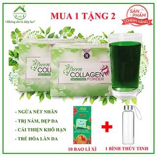 Diệp Lục Collagen của công ty TNHH Green Family Development, Hộp 30 gói