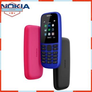 Điện Thoại Cổ Pin Trâu Nokia 105 Dual 2019 Chính Hãng Bàn Phím Số Cho Người Già thumbnail