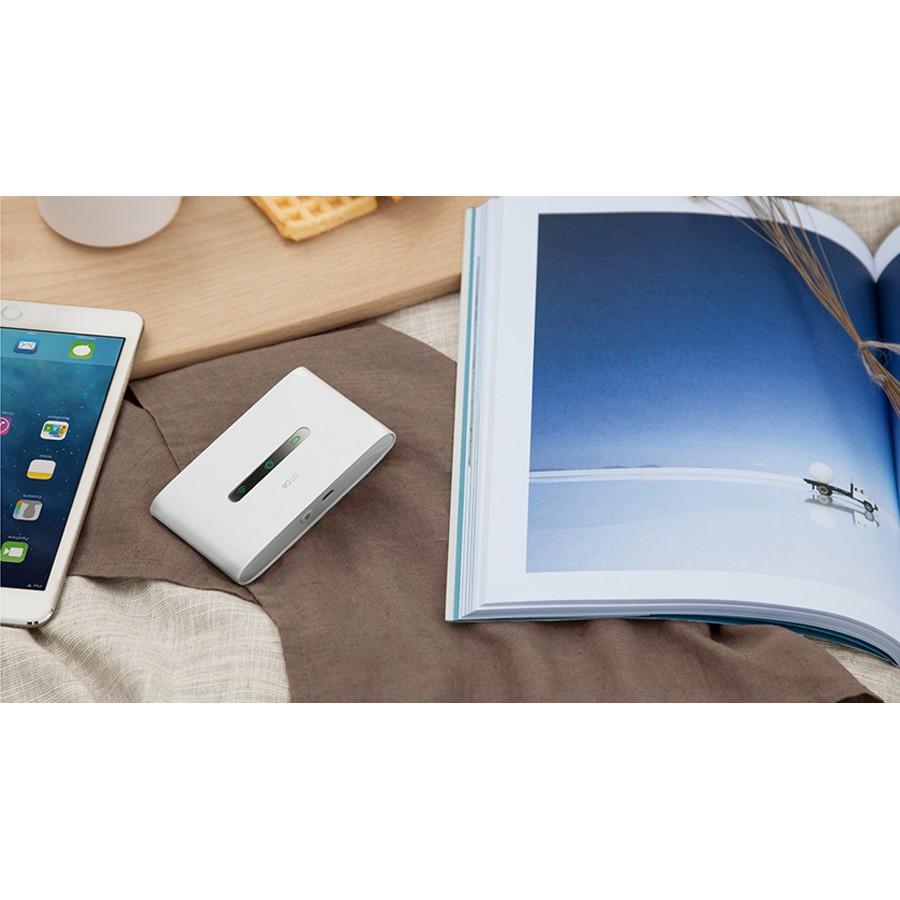 Thiết bị phát Wifi di động dùng sim cao cấp LTE 4G TP-Link M7300 ( Trắng ) - Hàng Chính Hãng | Bảo Hành 2 Năm