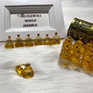 Mô hình chai rượu XO trang trí nhà búp bê, wine bottles dollhouse 1:12