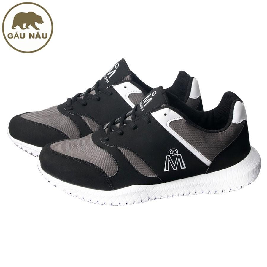 Giày sneaker thể thao GN406 siêu bền siêu rẻ Gấu Nâu