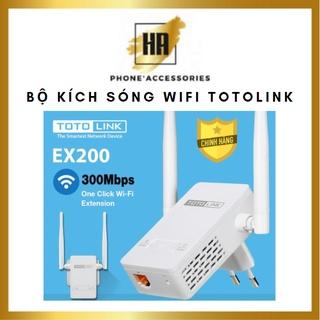 Bộ kích sóng wifi cực mạnh totolink ex200, bảo hành chuẩn hãng 24 tháng phukienhuonganh thumbnail