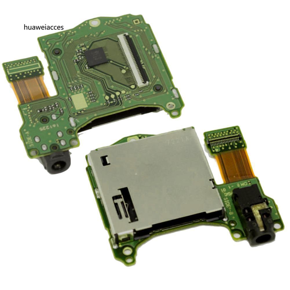 HUA♥Original Game Cartridge Card Slot Reader Headphone Jack Port for Nintendo Switch