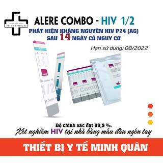 [ Hỏa Tốc ] Test HIV Combo Alere 1/2 HIV ( phát hiện HIV sau 14 ngày có nguy cơ )