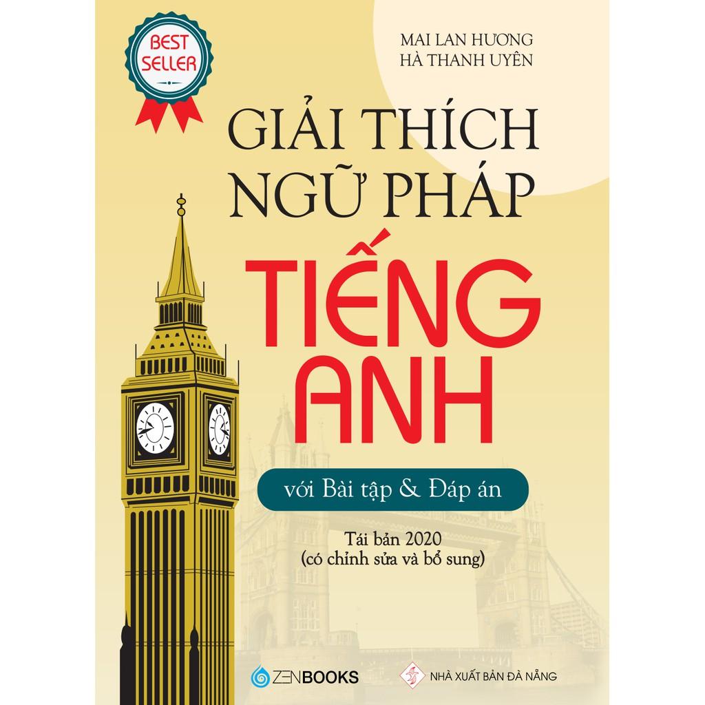 Sách - Giải Thích Ngữ Pháp Tiếng Anh