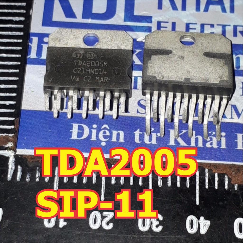 [GIÁ SỐC] 2 con TDA2005R 【SIP-11】IC khuếch đại âm thanh kde1570 GIÁ SỐC
