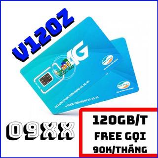 [G01] Sim 4G Viettel V120 – V120Z – 4GB/NGÀY – 120GB DATA – MIỄN PHÍ GỌI S034