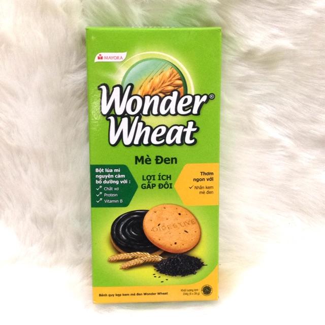 Bánh quy kẹp kem mè đen Wonder Wheat hộp 234g - 2466245 , 728354114 , 322_728354114 , 17000 , Banh-quy-kep-kem-me-den-Wonder-Wheat-hop-234g-322_728354114 , shopee.vn , Bánh quy kẹp kem mè đen Wonder Wheat hộp 234g