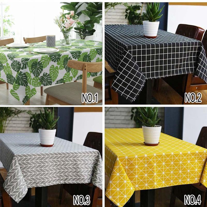 Khăn trải bàn ăn bằng vải lanh cotton chống bụi