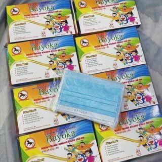 Khẩu trang y tế trẻ em Bayoka_ hộp 10c