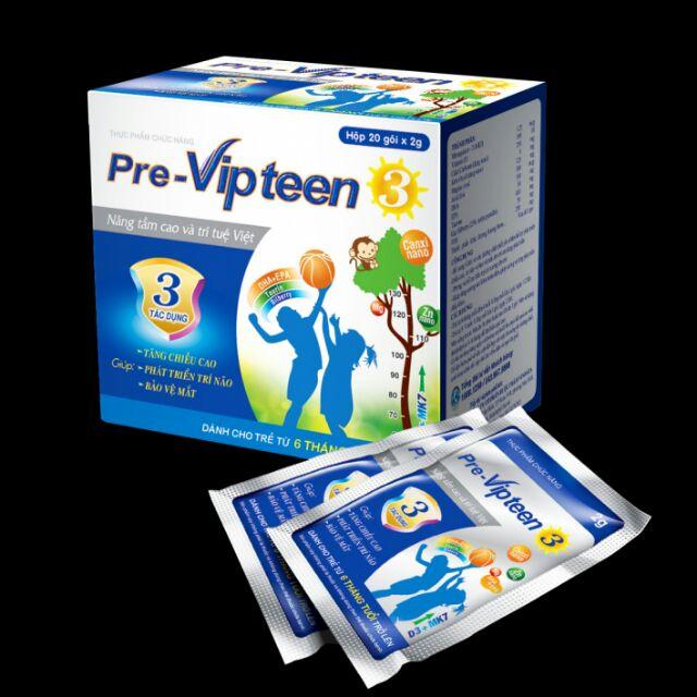Pre - Vipteen 3 phát triển chiều cao, trí não và bảo vệ mắt cho bé