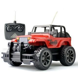 Ô tô điều khiển Jeep 6836 SP3901 – Đỏ-BB