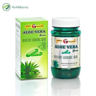 Viên uống dưỡng ẩm da, chống lão hóa và tái tạo da ALOE VERA Green- MediBeauty chai 60 viên thumbnail