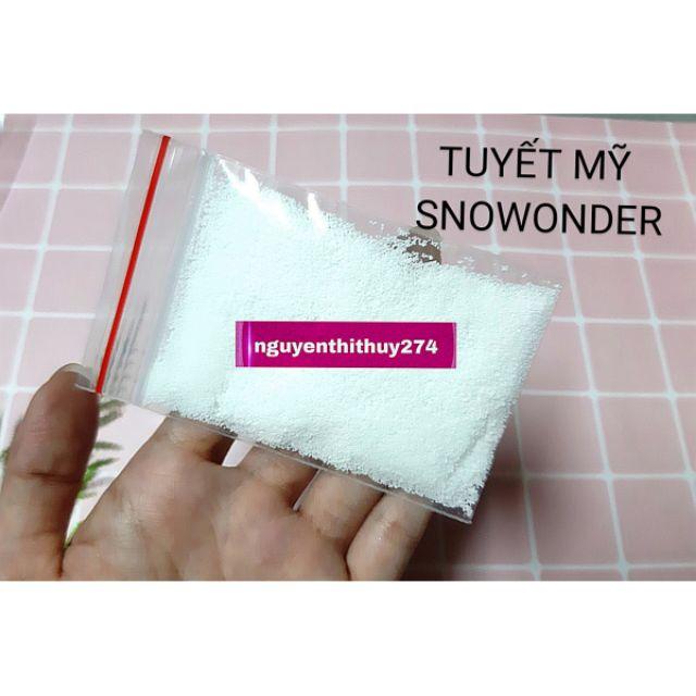 10G Tuyết Snowonder Nguyên Liệu Làm Slime Mây