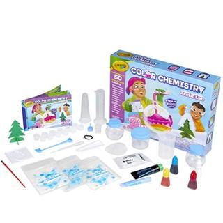 Bộ đồ chơi bé làm nhà khoa học nhí với 50 thí nghiệm đầy sắc màu với bộ Crayola Color Chemistry Lab Set