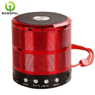 Loa Basspal Ws887 Mini Bluetooth Không Dây Hỗ Trợ Thẻ TF