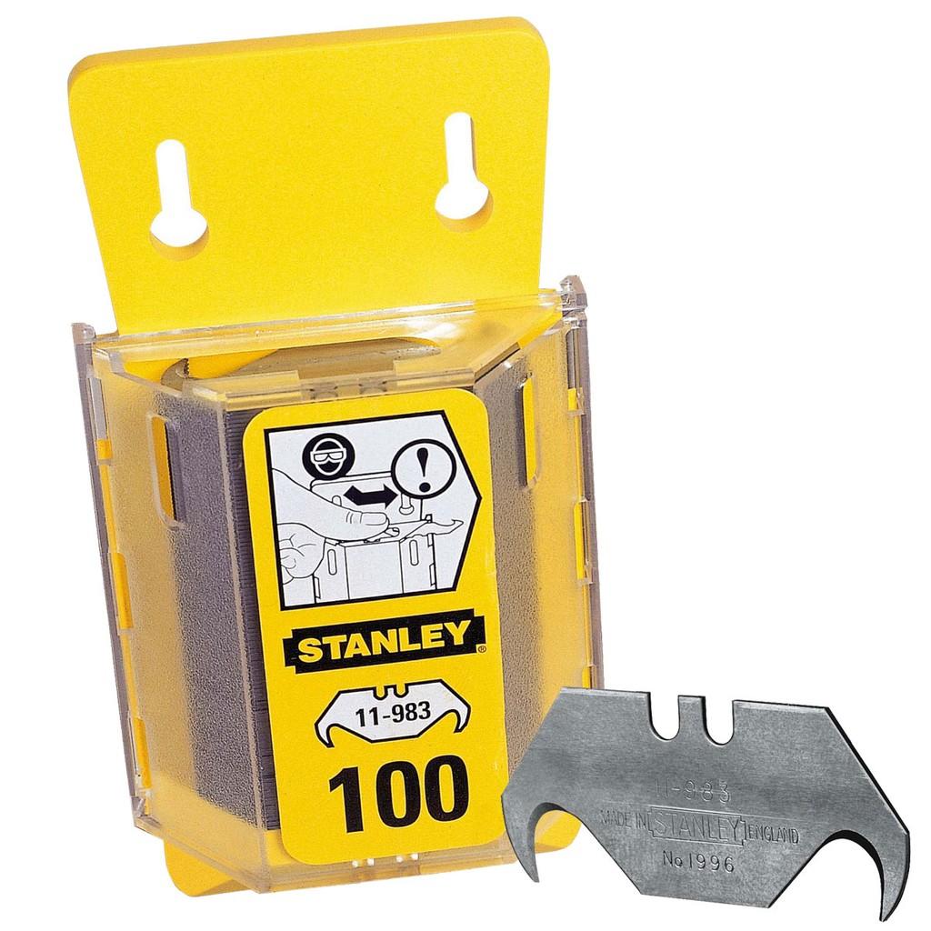 Lưỡi dao rọc cáp cong Stanley 11-983 (5lưỡi/ hộp)