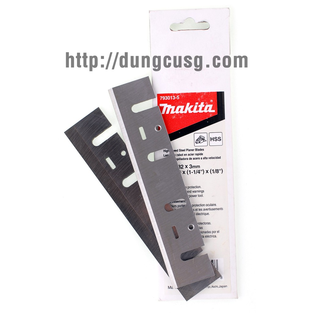DCSG Sỉ 02 bộ lưỡi bào 155mm Makita 793013-5