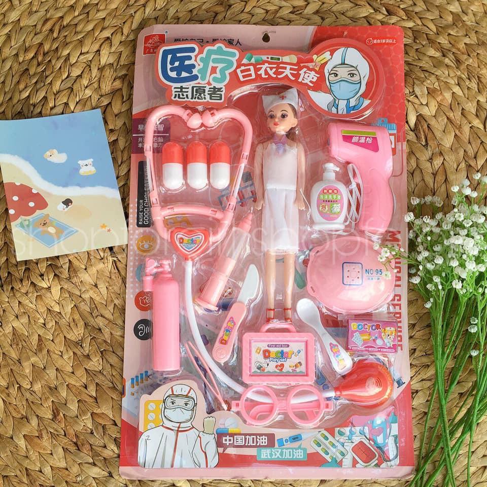 Set đồ chơi y tá cho bé – dressholic