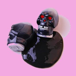 đồ chơi slime đầu nâu đen – slime lỏng mã LWS53 W392