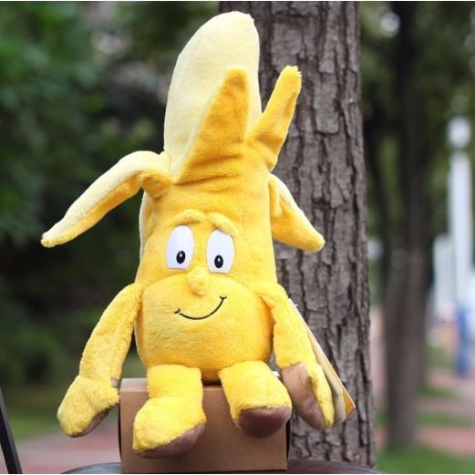 Goodness gang Fruits Vegetables Banana Soft Plush Doll Toy